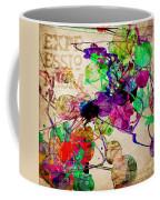 Abstract Mixed Media Coffee Mug