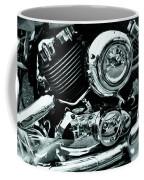 Abstract Motor Bike - Doc Braham - All Rights Reserved Coffee Mug