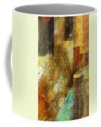 Abstract Music Shop Window One Coffee Mug