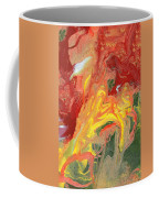 Abstract - Nail Polish - In A State Of Flux Coffee Mug by Mike Savad