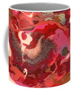 Abstract - Nail Polish - Love Coffee Mug by Mike Savad