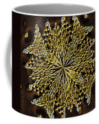 Abstract Neon Gold Coffee Mug