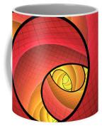 Abstract Network Coffee Mug