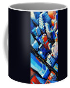 Abstract New York Sky View Coffee Mug