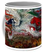 Abstract Number 32 Coffee Mug