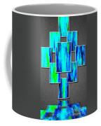 Abstract Ocean Tiles Coffee Mug