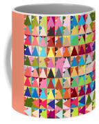 Abstract Of Colors  Coffee Mug by Mark Ashkenazi