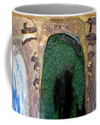 Abstract Of Penguins On Ice Coffee Mug