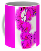 Abstract Orchid 1 Coffee Mug