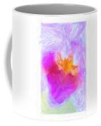 Abstract Orchid Pastel Coffee Mug by Antony McAulay
