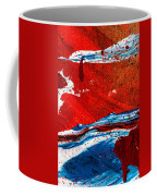 Abstract Original Artwork One Hundred Phoenixes Untitled Number Three Coffee Mug