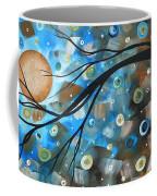 Abstract Original Landscape Art In A Trance Art By Madart Coffee Mug
