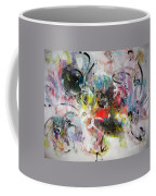 Abstract Painting Colourful Art Coffee Mug