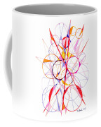 Abstract Pen Drawing Fifty-one Coffee Mug