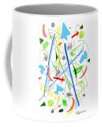 Abstract Pen Drawing Fifty-three Coffee Mug