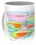 Abstract Pen Drawing Forty-three Coffee Mug