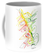 Abstract Pen Drawing Seventy-one Coffee Mug