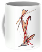Abstract Pen Drawing Sixty-five Coffee Mug