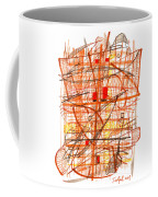 Abstract Pen Drawing Sixty-one Coffee Mug