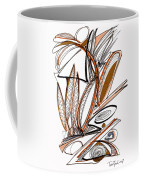 Abstract Pen Drawing Sixty-six Coffee Mug