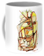 Abstract Pen Drawing Sixty-three Coffee Mug