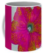 Abstract Petunia Coffee Mug
