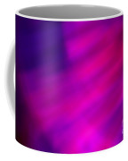 Abstract Pink And Blue Blur Coffee Mug