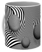 Abstract - Poke Out My Eyes Coffee Mug by Mike Savad
