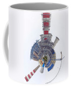 Abstract Construction Power Plant Coffee Mug