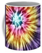 Abstract Purple Tie Dye Coffee Mug
