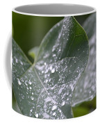 Abstract Rain Glitter Coffee Mug
