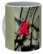 Abstract Red And Black Coffee Mug