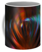 Abstract Red And Green Blur Coffee Mug