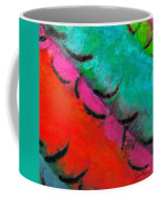 Abstract Red Blue Coffee Mug