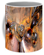 Abstract Ring Connections Coffee Mug