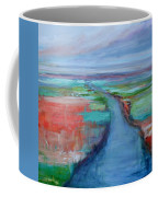 Abstract River Coffee Mug