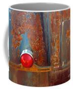 Abstract Rust Coffee Mug
