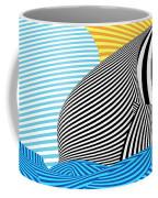 Abstract - Sailing Coffee Mug