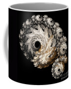 Abstract Seashell Coffee Mug