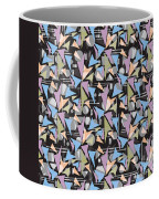 Abstract Shapes Collage Coffee Mug
