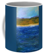 Abstract Shoreline Coffee Mug by Michelle Calkins
