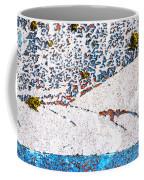 Abstract Snow Storm Coffee Mug