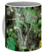 Abstract Spider Web Coffee Mug