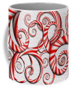 Abstract - Spirals - Peppermint Dreams Coffee Mug