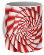 Abstract - Spirals - The Power Of Mint Coffee Mug by Mike Savad