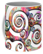 Abstract - Spirals - Wonderland Coffee Mug