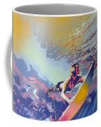 Abstract Surf Coffee Mug