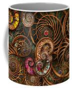 Abstract - The Wonders Of Sea Coffee Mug