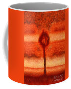 Abstract Tree Coffee Mug by Pixel Chimp