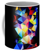 Abstract Triangles And Texture Coffee Mug